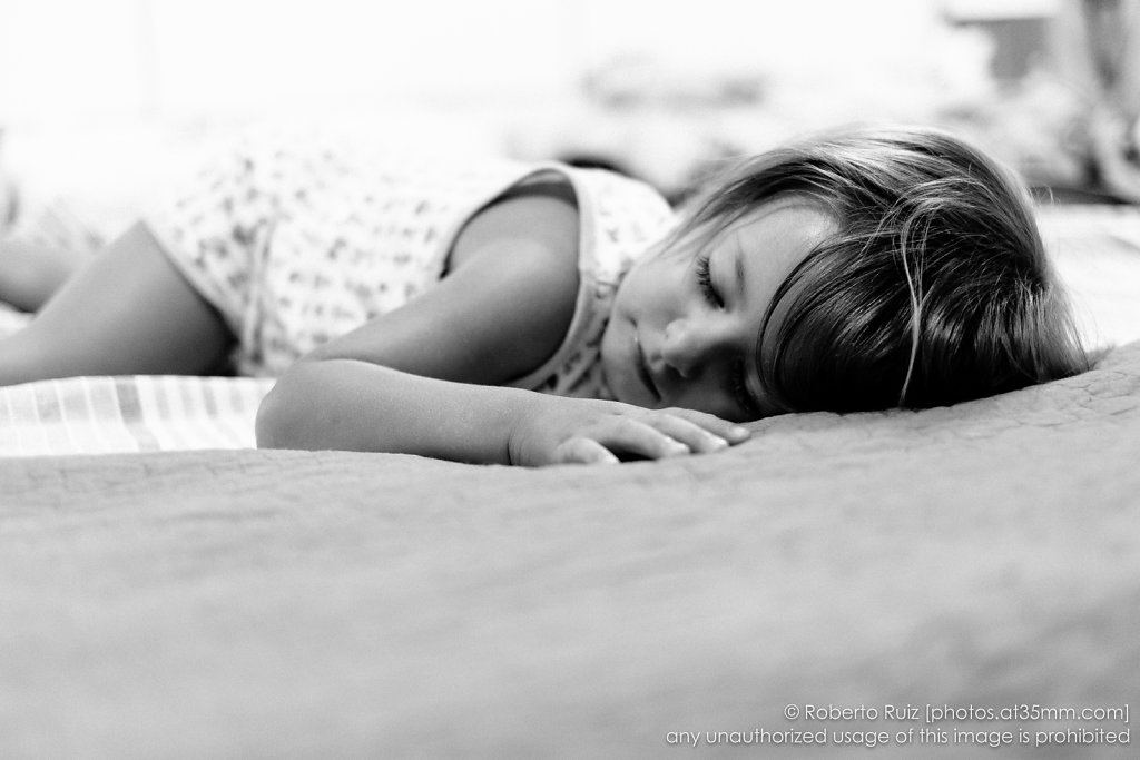 You are a little angel ... as you sleep