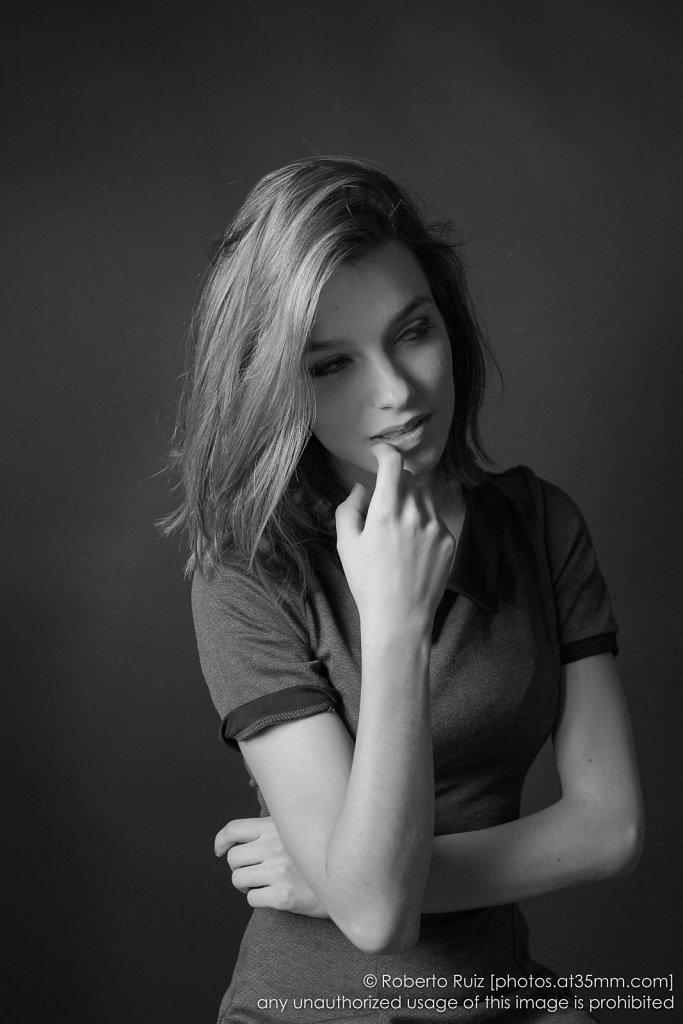 Posing in B&W